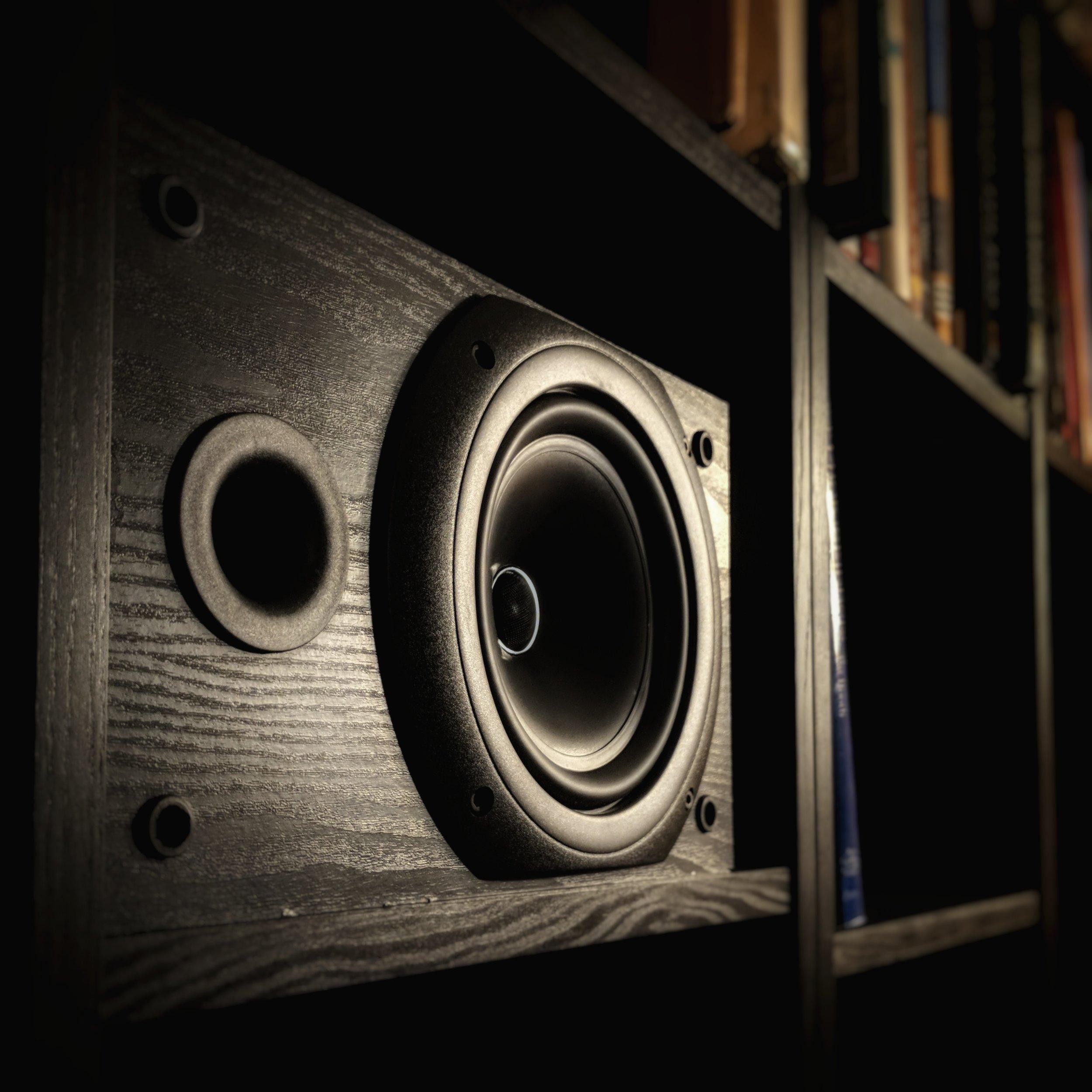 KEF Q10 bookshelf loudspeaker.