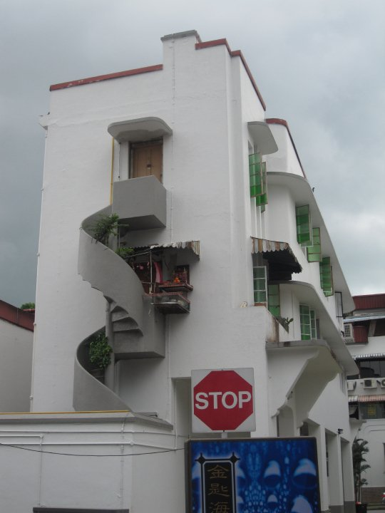 A 'vintage' snap of Tiong Bahru from my first visit in 2010!