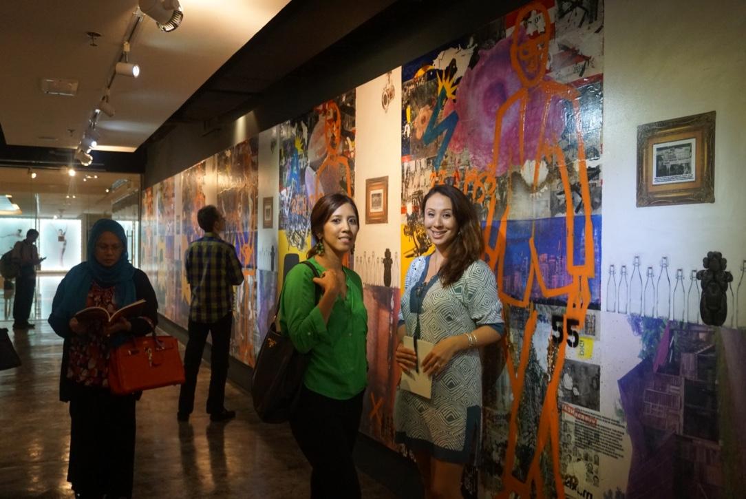 Batik&Bubbles at the Bebas Launch