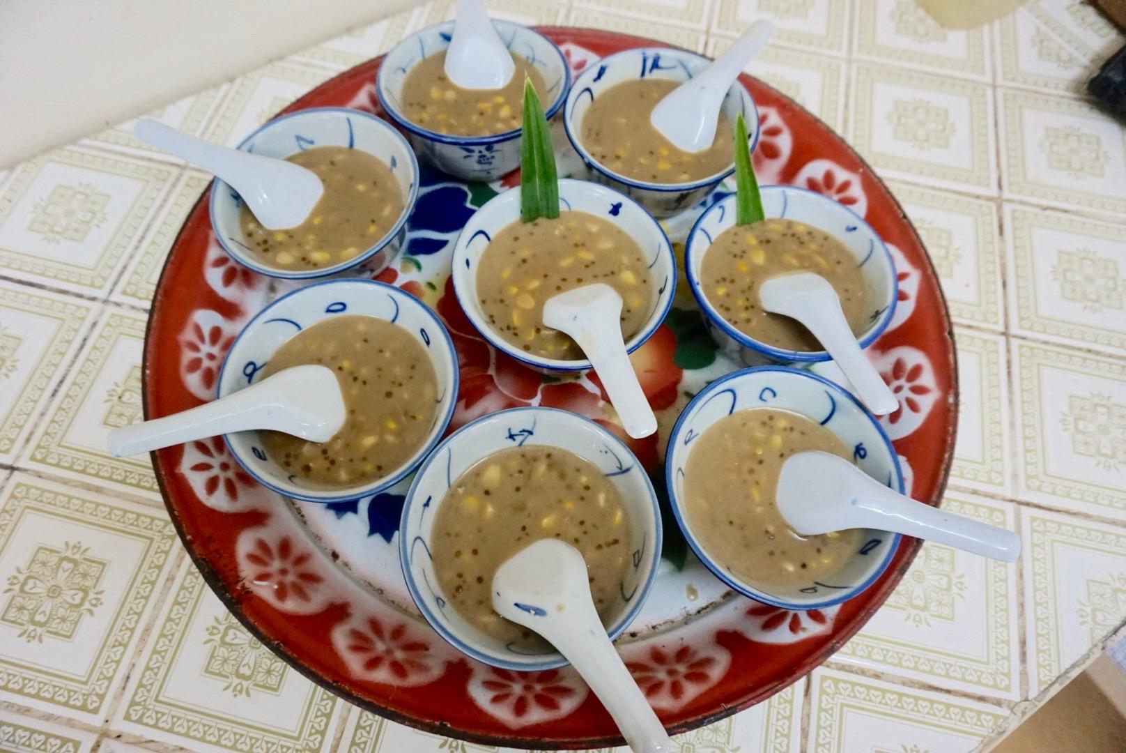 Sweetcorn and Sago in Coconut Milk