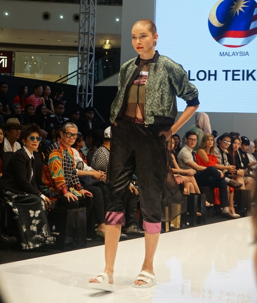 Songket inspired designs by Malaysia's Very Own Loh Teik Lim