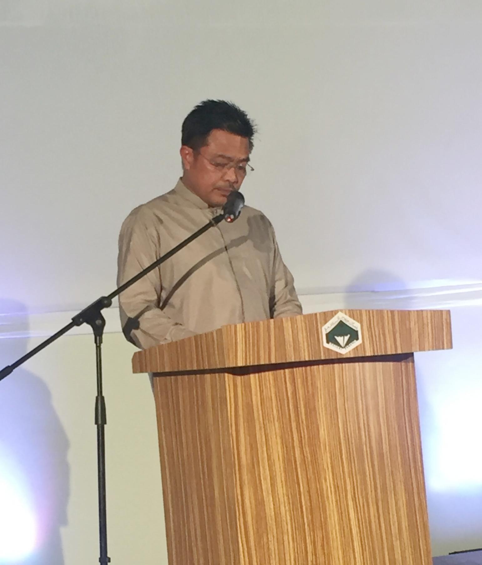 Dato' Sri Haji Mohd Sharkar bin Haji Shamsudin,Chairman of Pahang State Tourism and Cultural Affairs