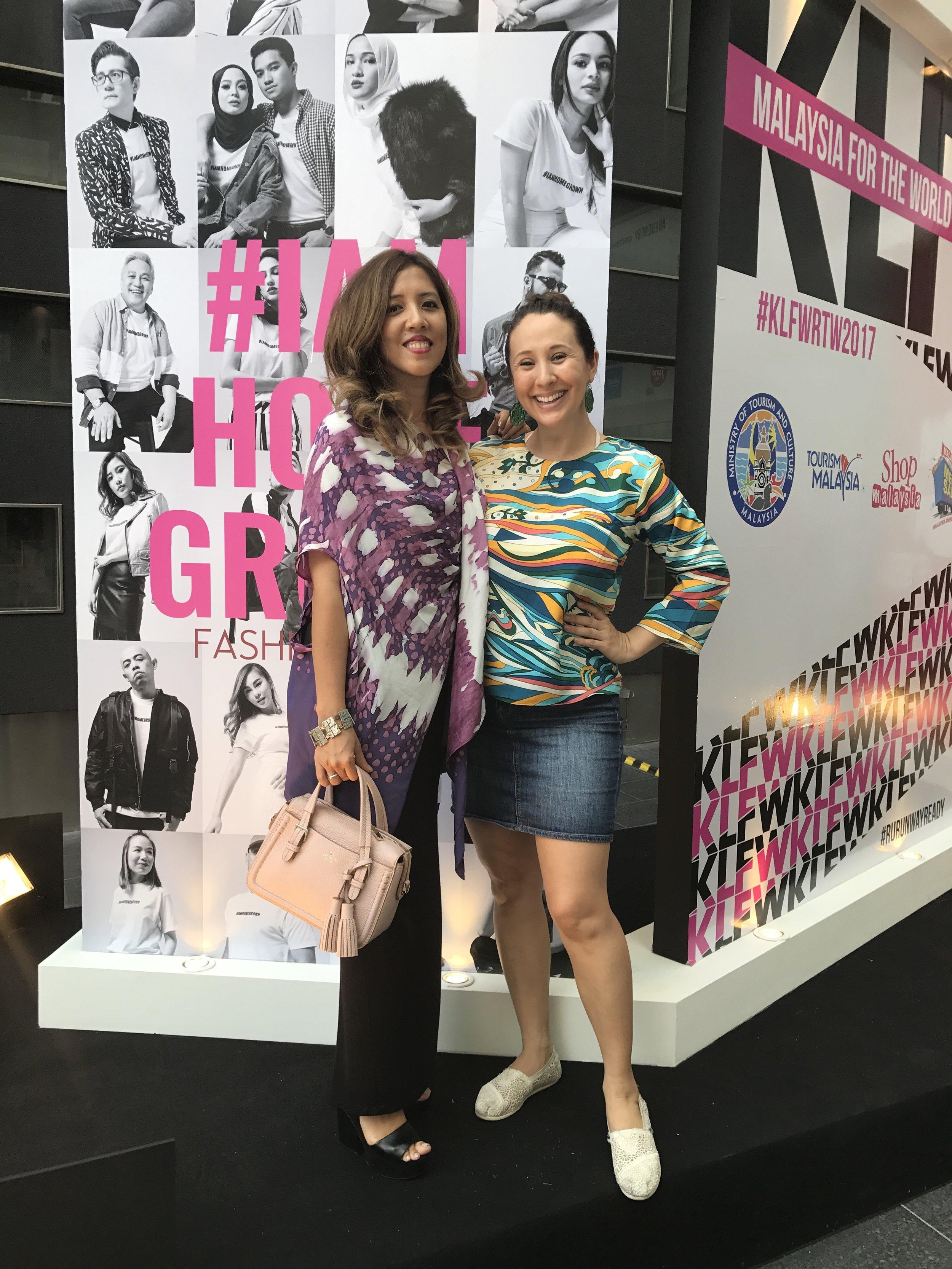 Farena & Yiga at KLFashion Week 2017