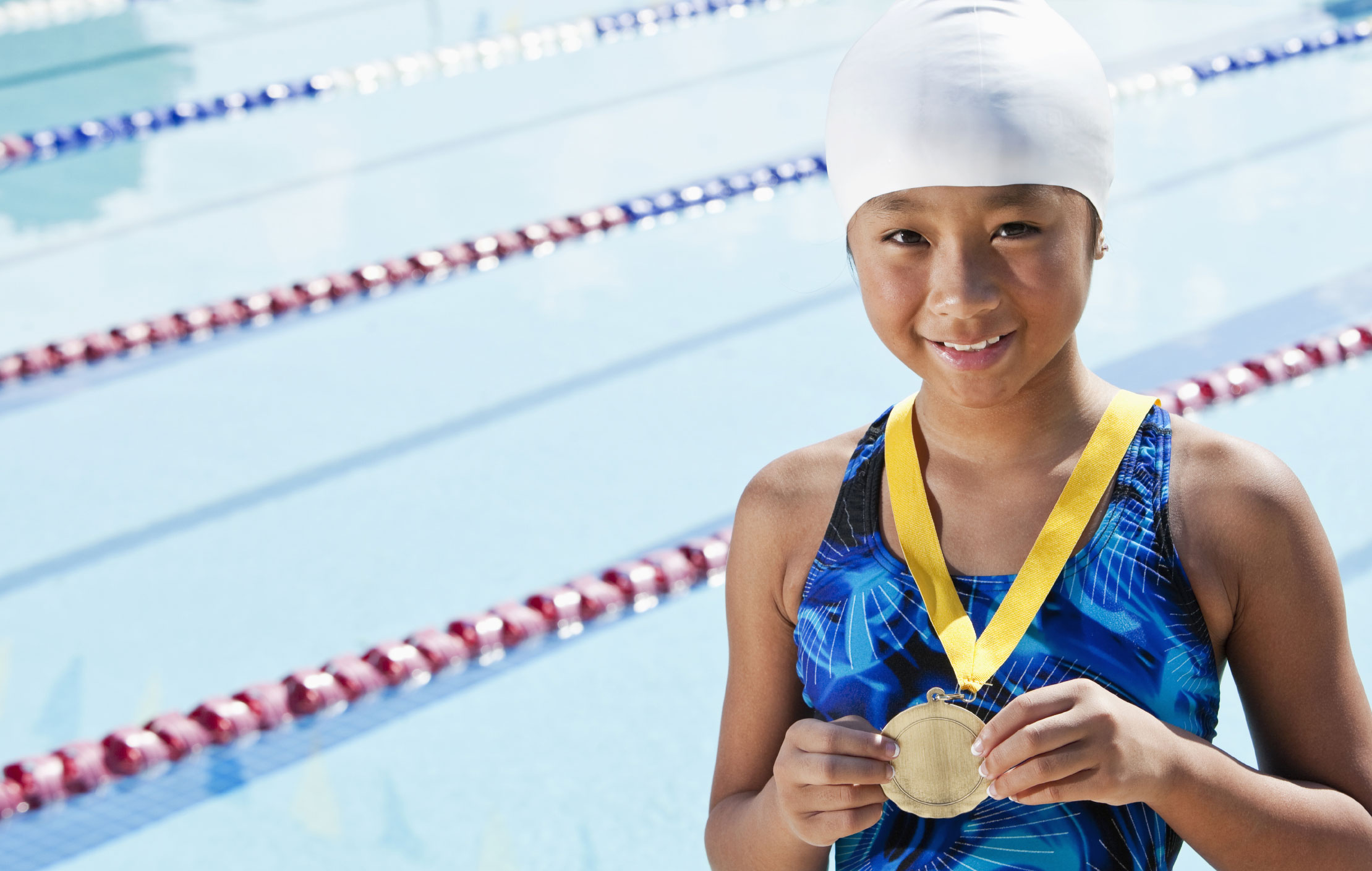 Imagine the freedom    of swimming without goggles.    Book a free consultation