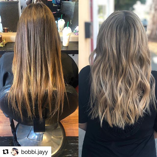 #Repost @bobbi.jayy with @get_repost ・・・ Who else LOVES a good #babylights #shadowroot combo?! 🙋🏼‍♀️🙋🏼‍♀️🙋🏼‍♀️ took my beautiful birthday twin @daughtah_of_the_most_high to the most gorgeous #blonde 😭🤤 #blondehair #blondebalayage #blondebabylights #coolblonde #balagaye #balayagedandpainted #redkinshadeseq