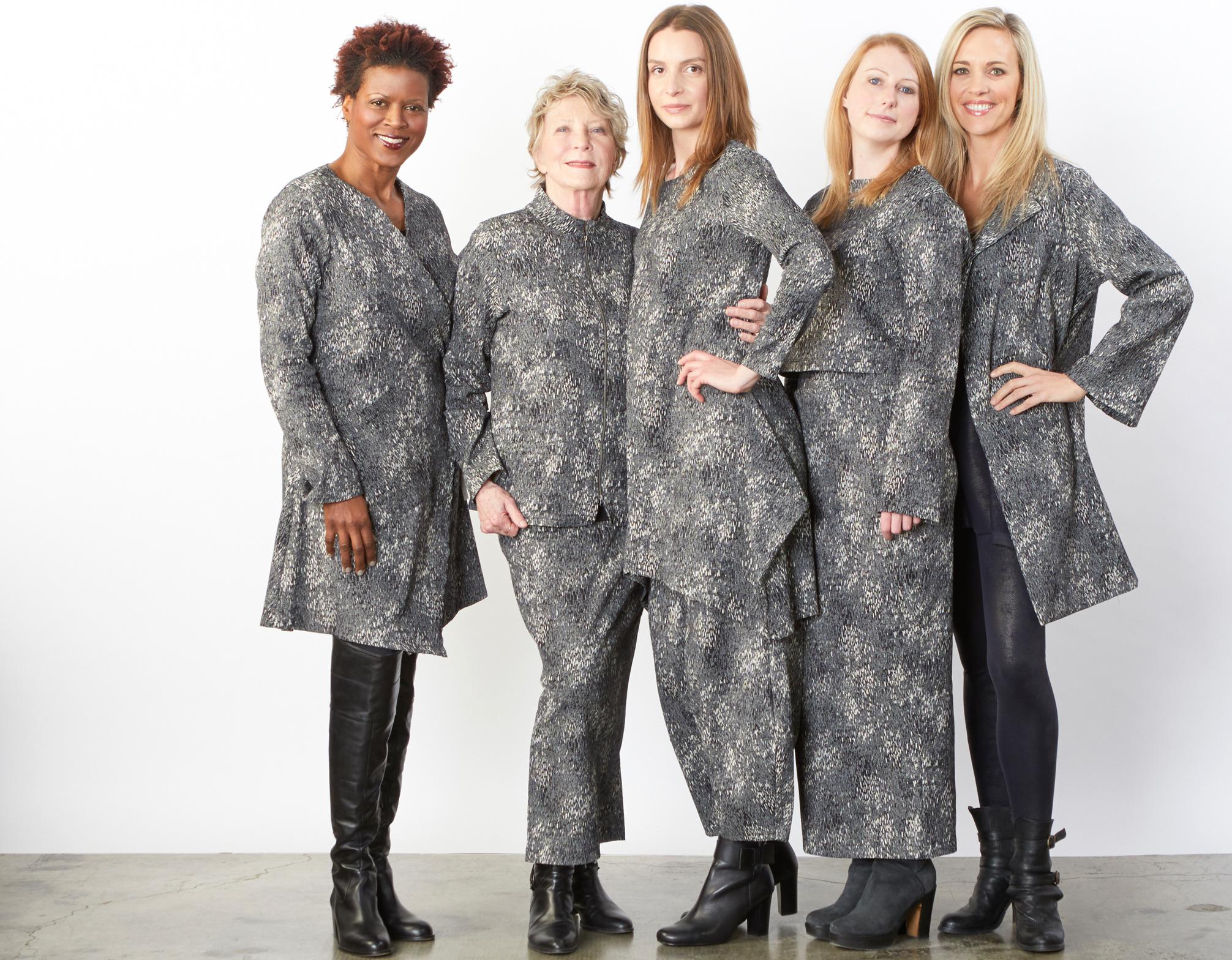 Andrea Jacket,Mathias Jacket, Slim Skirt, Chase Tunic, Oliver Pant, Sigrid Shirt, Amsterdam Jacket in Blue Ready for Helsinki