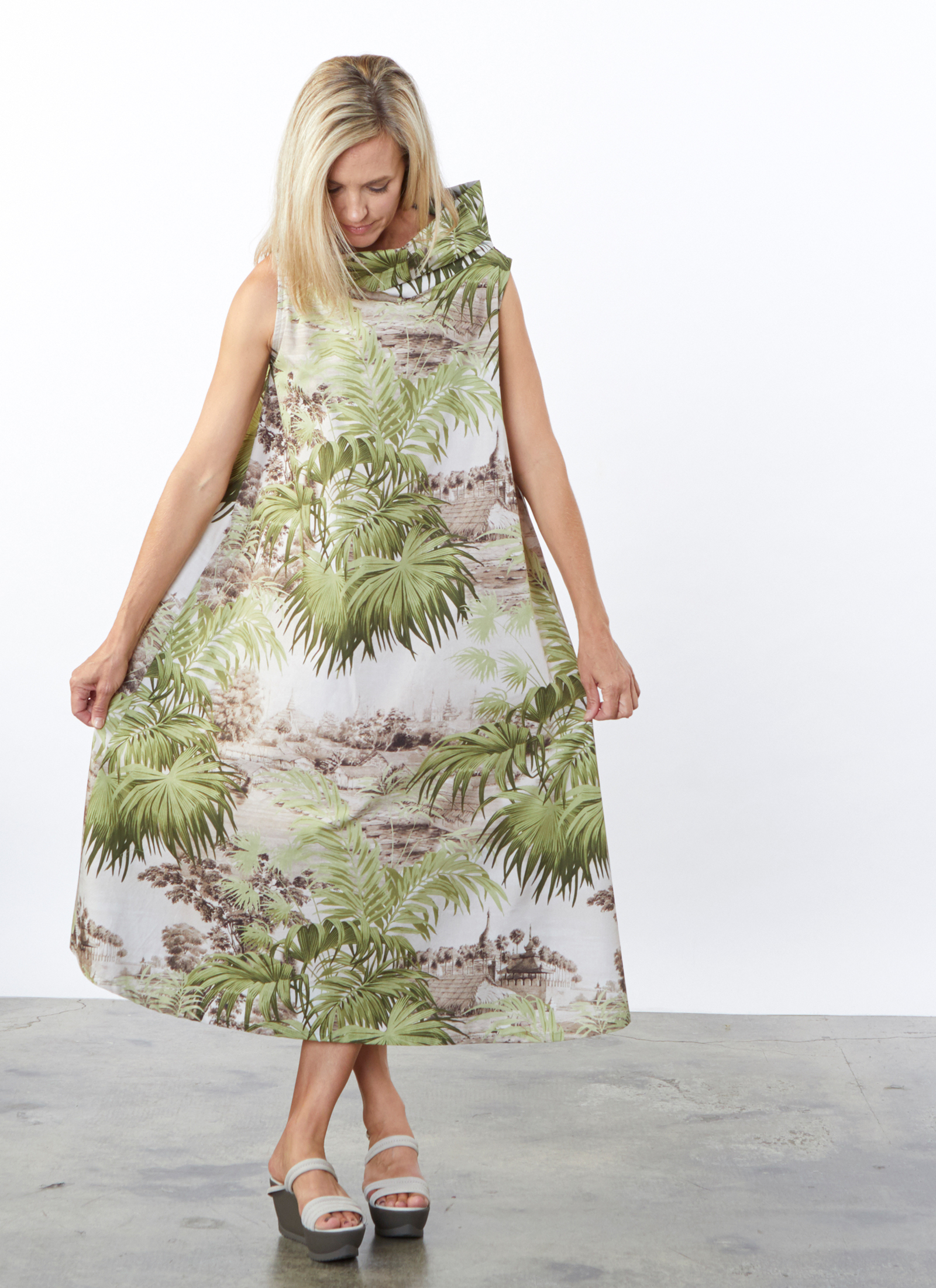 Henrietta Dress in Ready for Ubud
