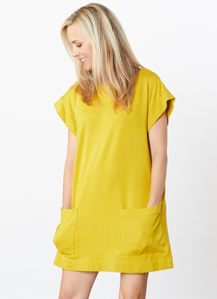 Clyde Tunic in Yuja Bamboo Terry