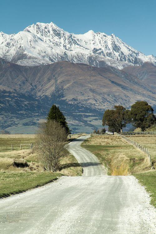 Picturesque Queenstown in Central Otago