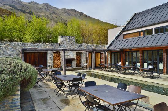 Amisfield Winery and Bistro in Arrowtown.