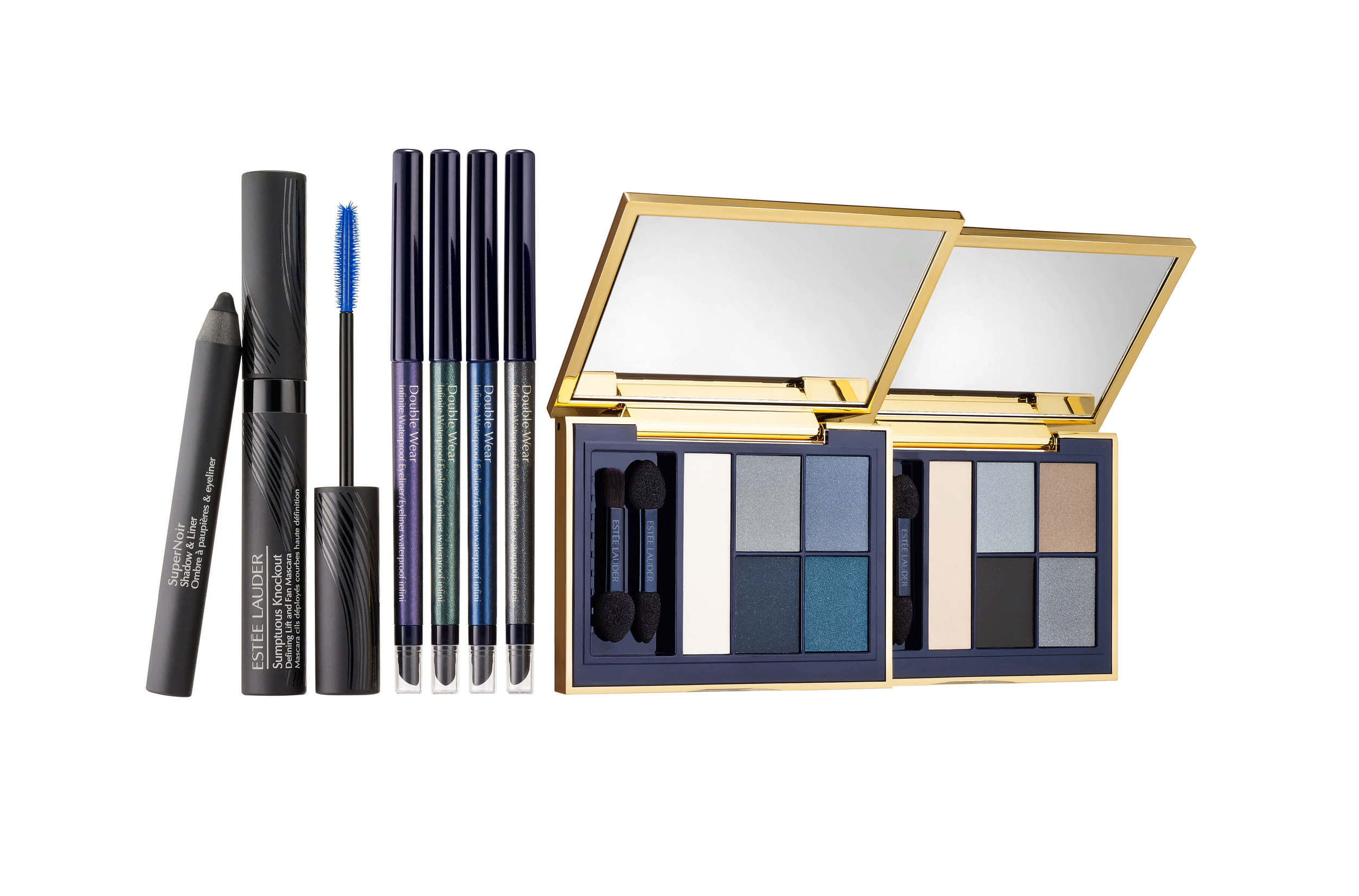 Estee Lauder Sumptuous Knockout Eye Collection.