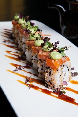 Sushi at Doraku
