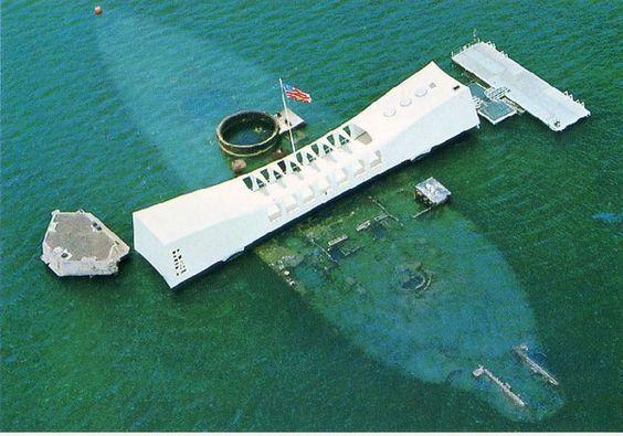 Pearl Harbour and the USS Arizona Memoria