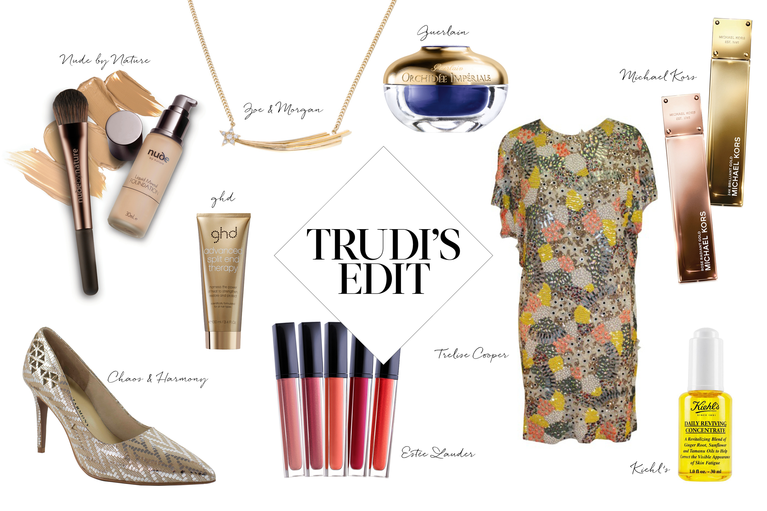 Gold - from head to toe rocks this autumn