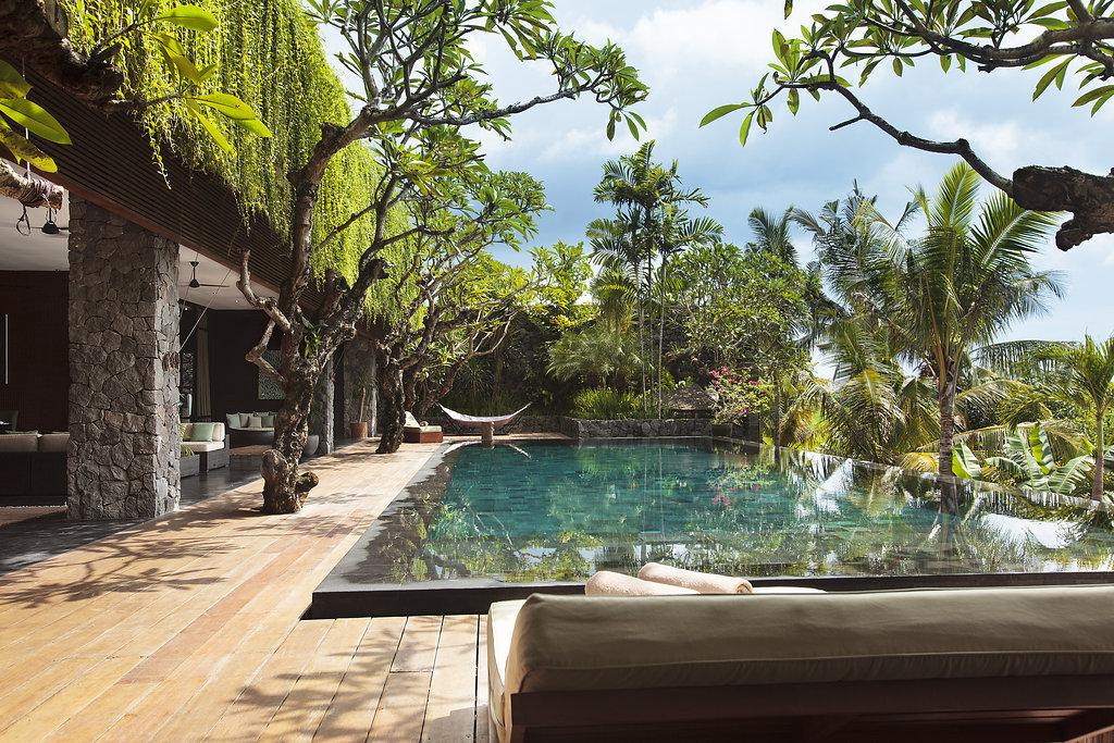 Pool area of Villa in Bali