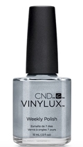 CND Vinylux Weekly Polish in Silver Chrome