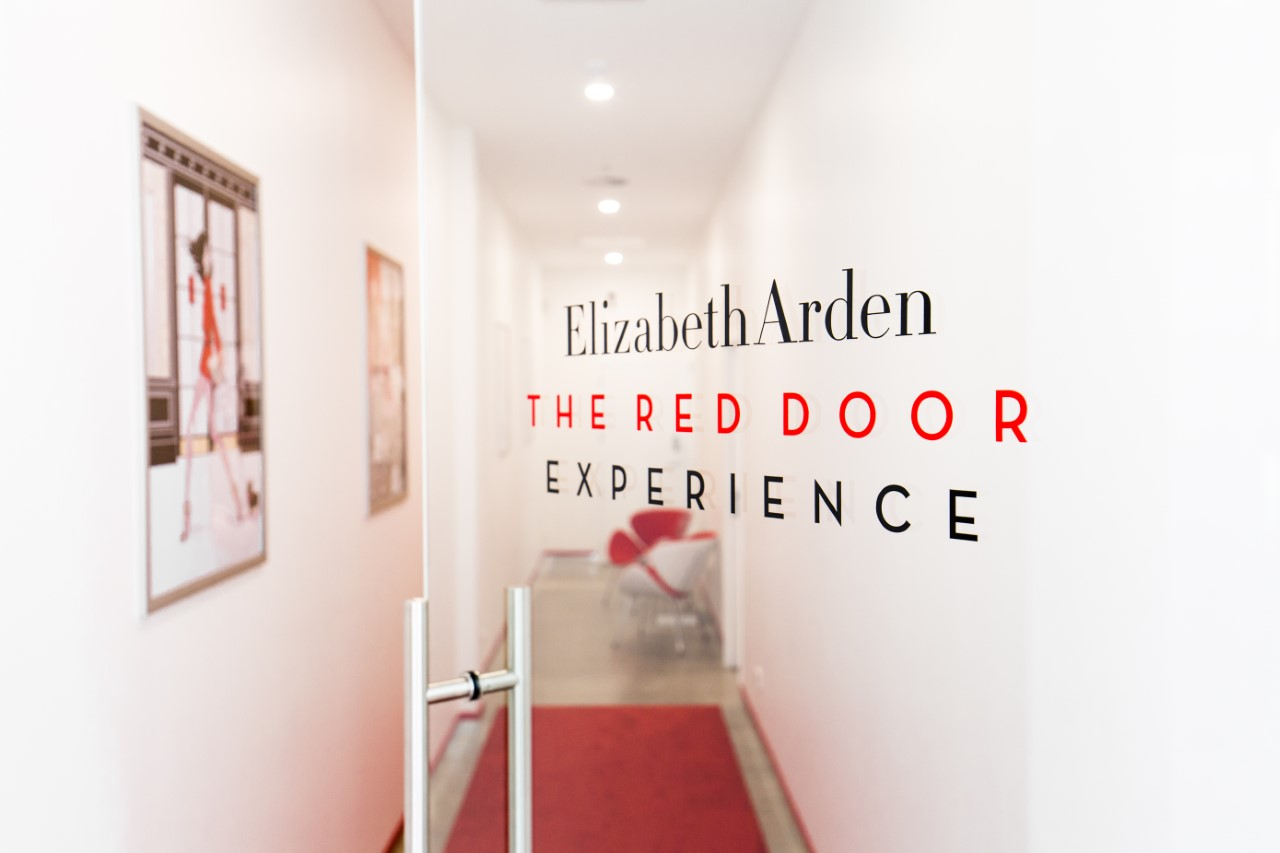The luxe Elizabeth Arden Boutique