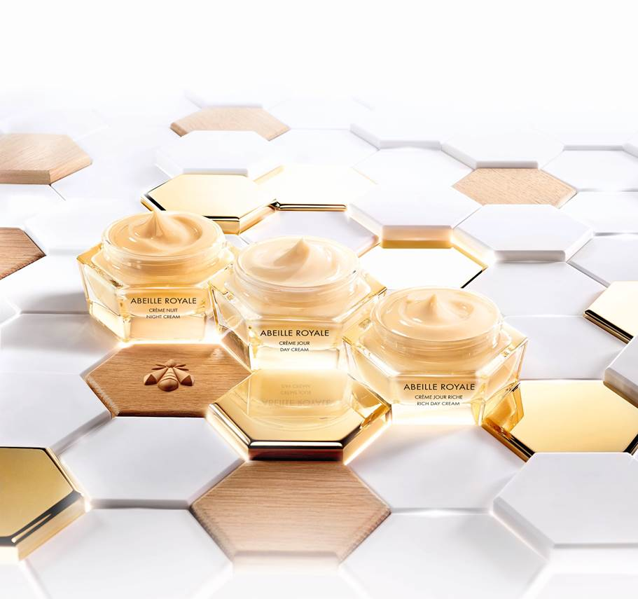 The star in Abeille Royale is honey from a black bee found of the Brittany coast.