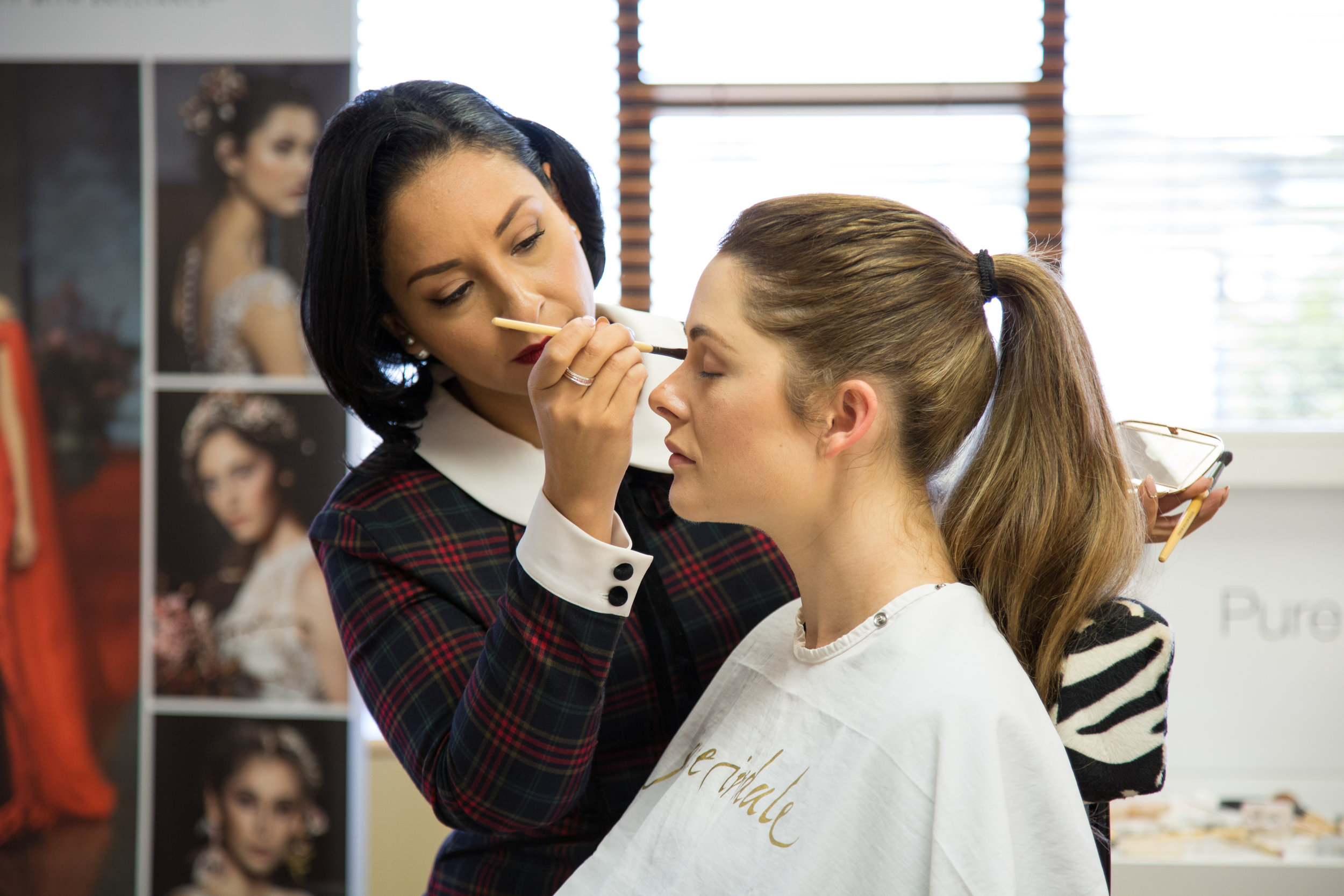 Soto-Carlisle's taking a Jane Iredale masterclass in Auckland