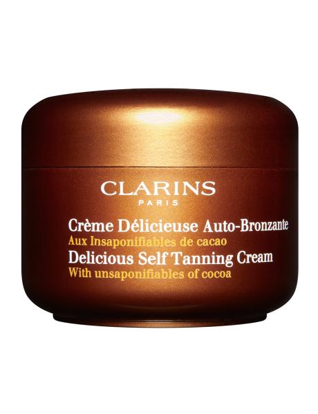 Clarins Delicious Self Tanning Cream, $58.