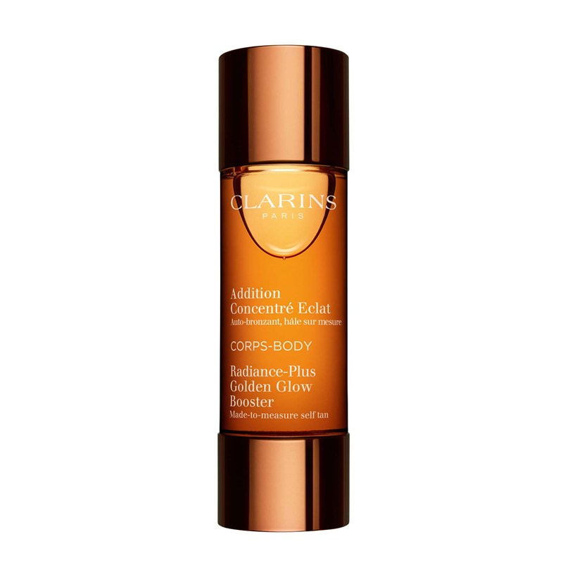 Clarins Radiance-Plus Golden Glow Booster-Face, $50.