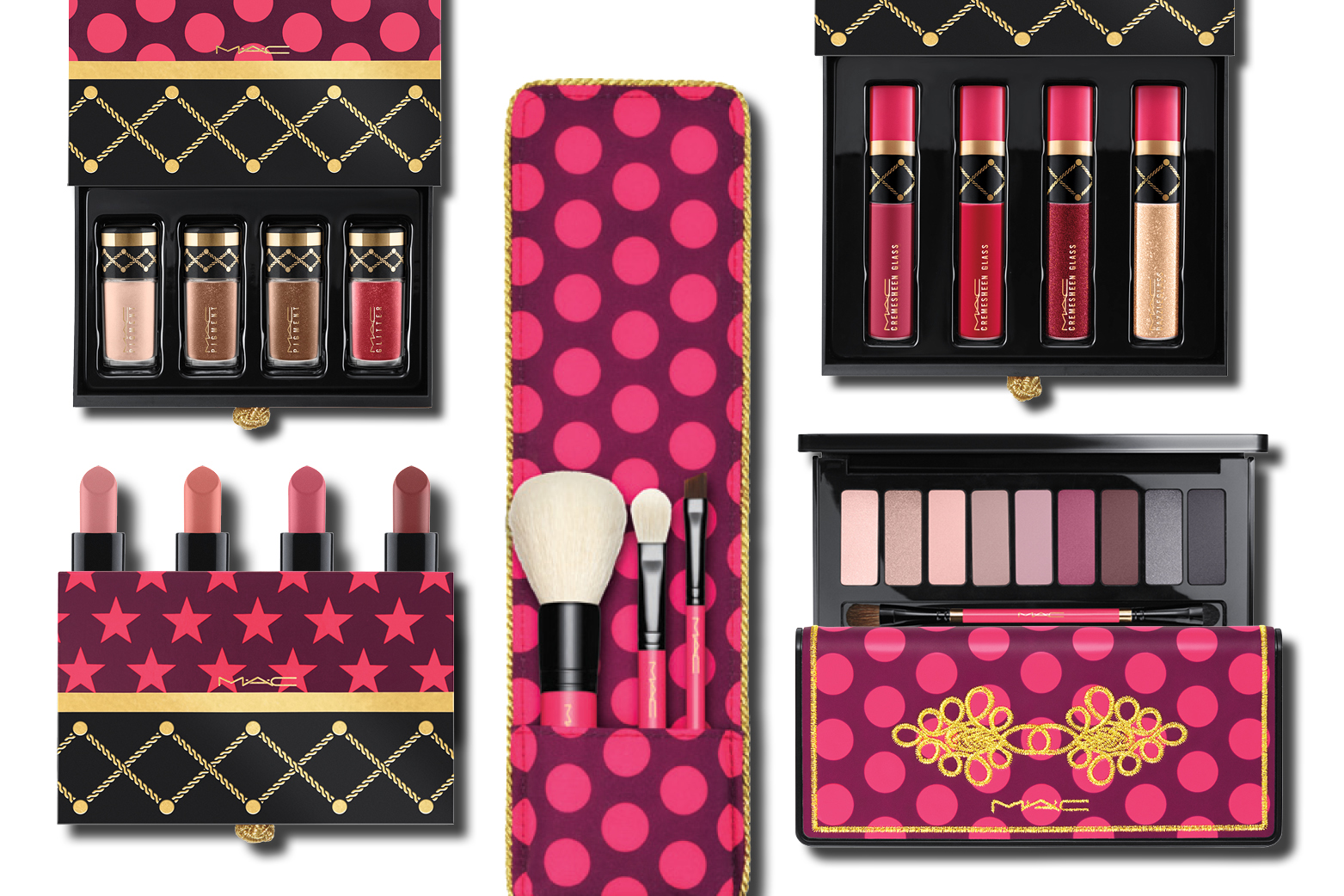 A taste of the MAC Nutcracker Sweet collection