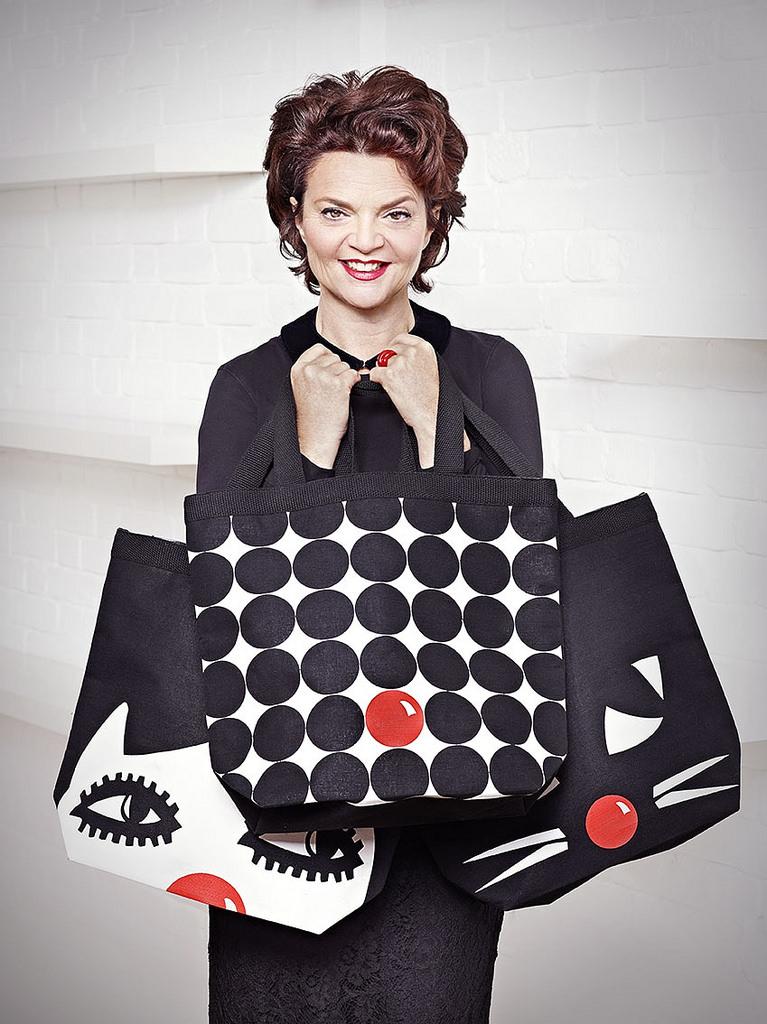 UK handbag designer Lulu Guinness