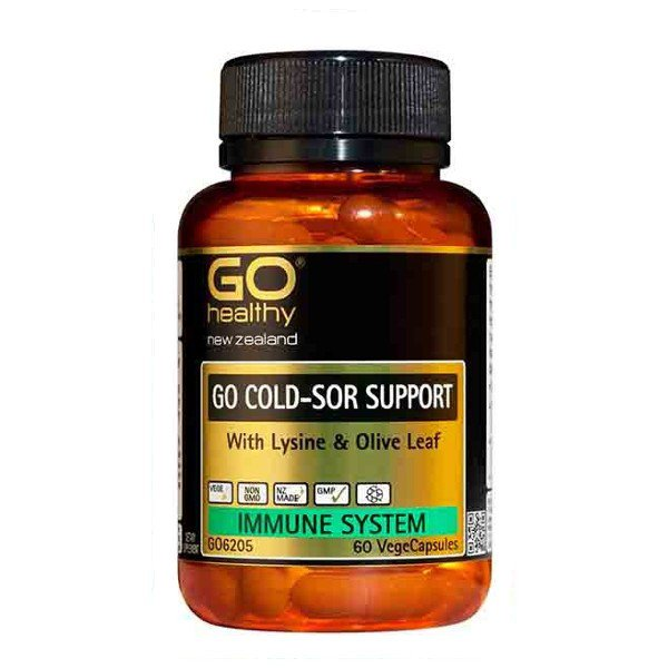 Copy of GO Healthy GO Cold-Sor Support, 60 capsules