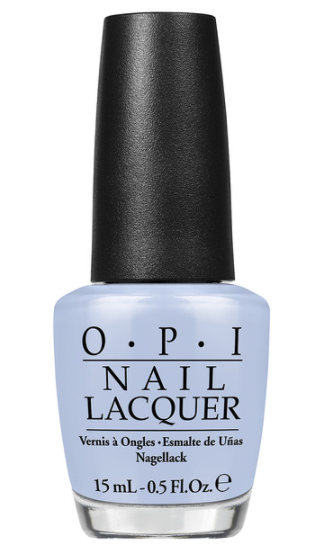OPI Nail Lacquer in I Am What I Amethyst in blue bottle with black lid