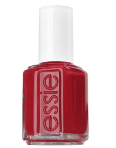 Essie Nail Colour in Apertif red bottle white lid