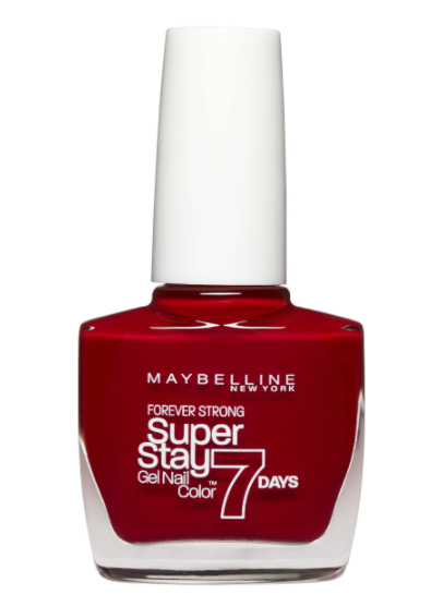 Maybelline Maybelline Superstay 7 Day Nails in Deep Red bottle with white lid