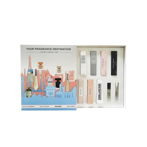 Your Fragrance Destination Luxe Sample Set