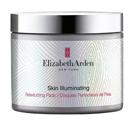 Elizabeth Arden Skin cream in silver bottled with black and red writing across it
