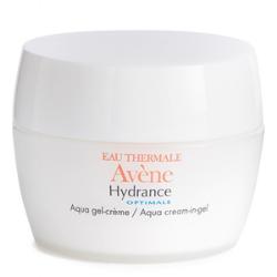 Avène hydrance aqua cream-in-gel in white bottle