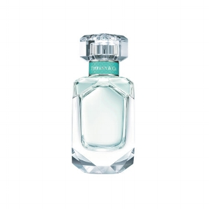 Tiffany & Co perfume in clear glass bottle