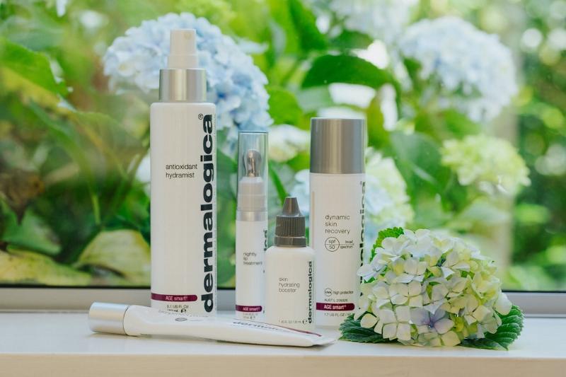 Bloomfield's Dermalogica skincare routine.