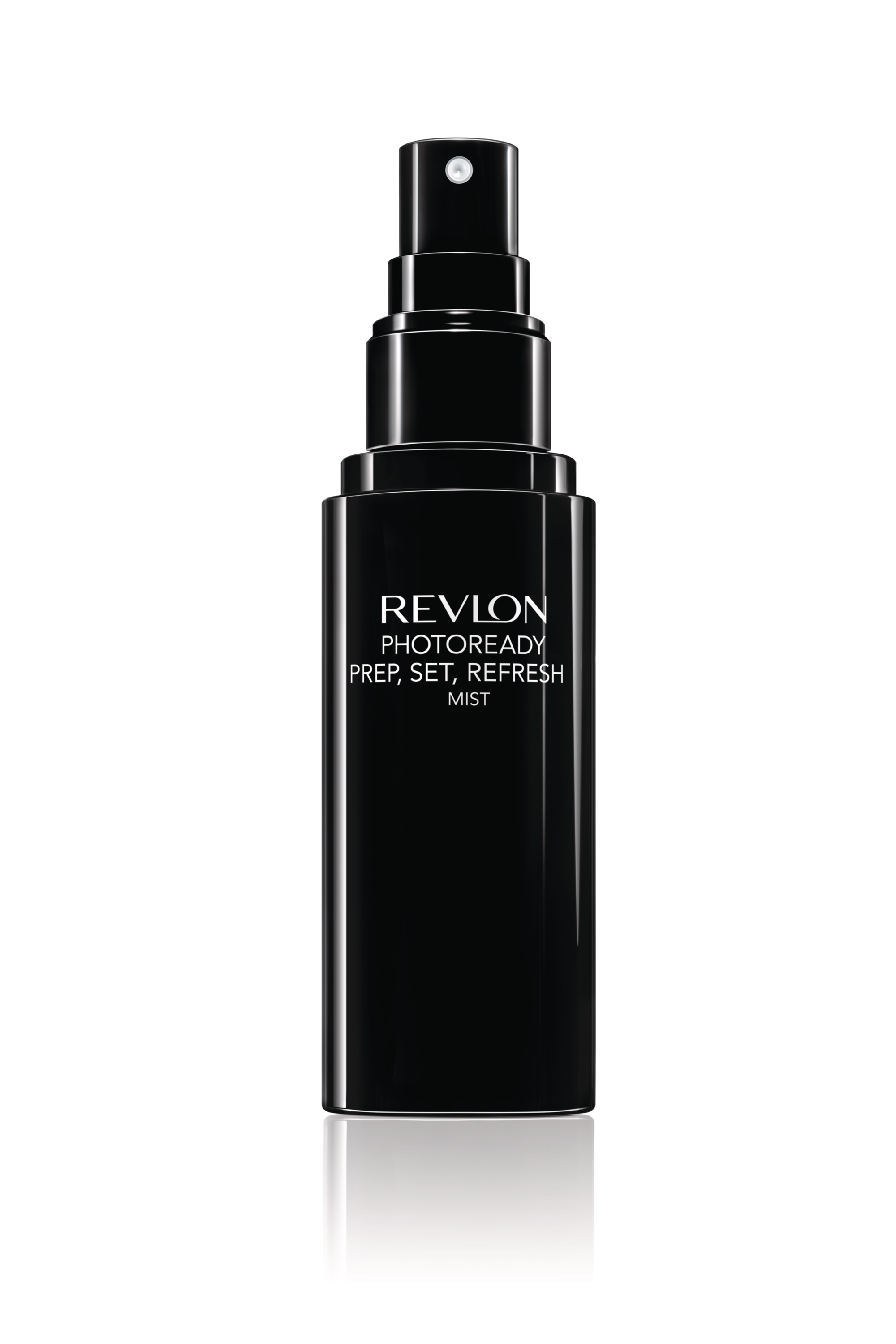 Revlon PhotoReady Prep, Set, Refresh Mist in black bottle