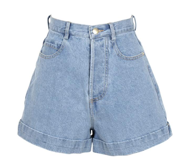 Ruby denim shorts