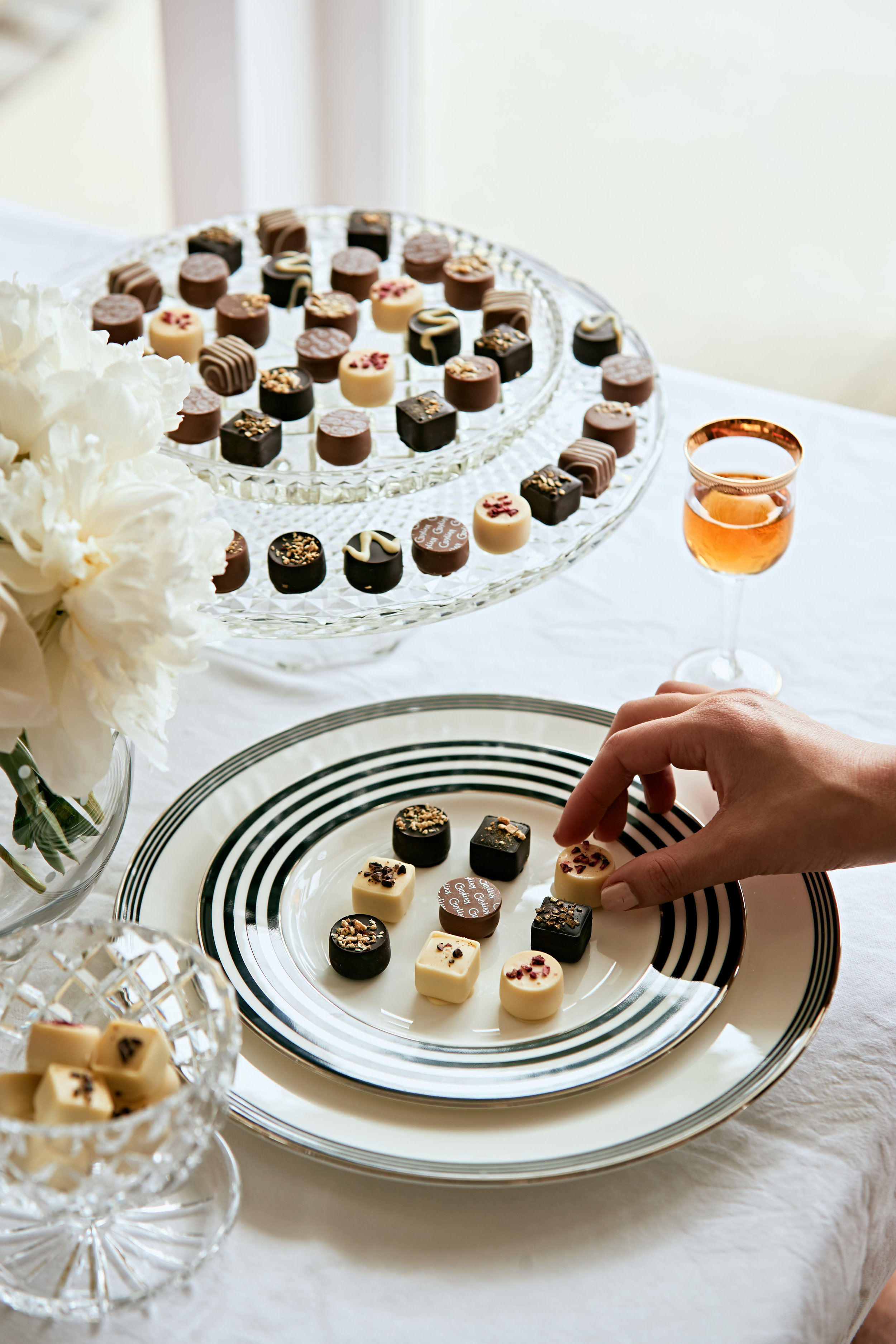 Image BeautyEQ The Guylian Master's selection of praline chocolates.