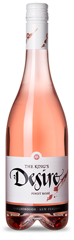 The King's Desire Rose Pinot