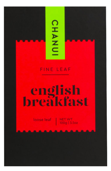 Chanui English Breakfast Loose Leaf tea
