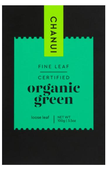 Chanui Organic Green Loose Leaf Tea