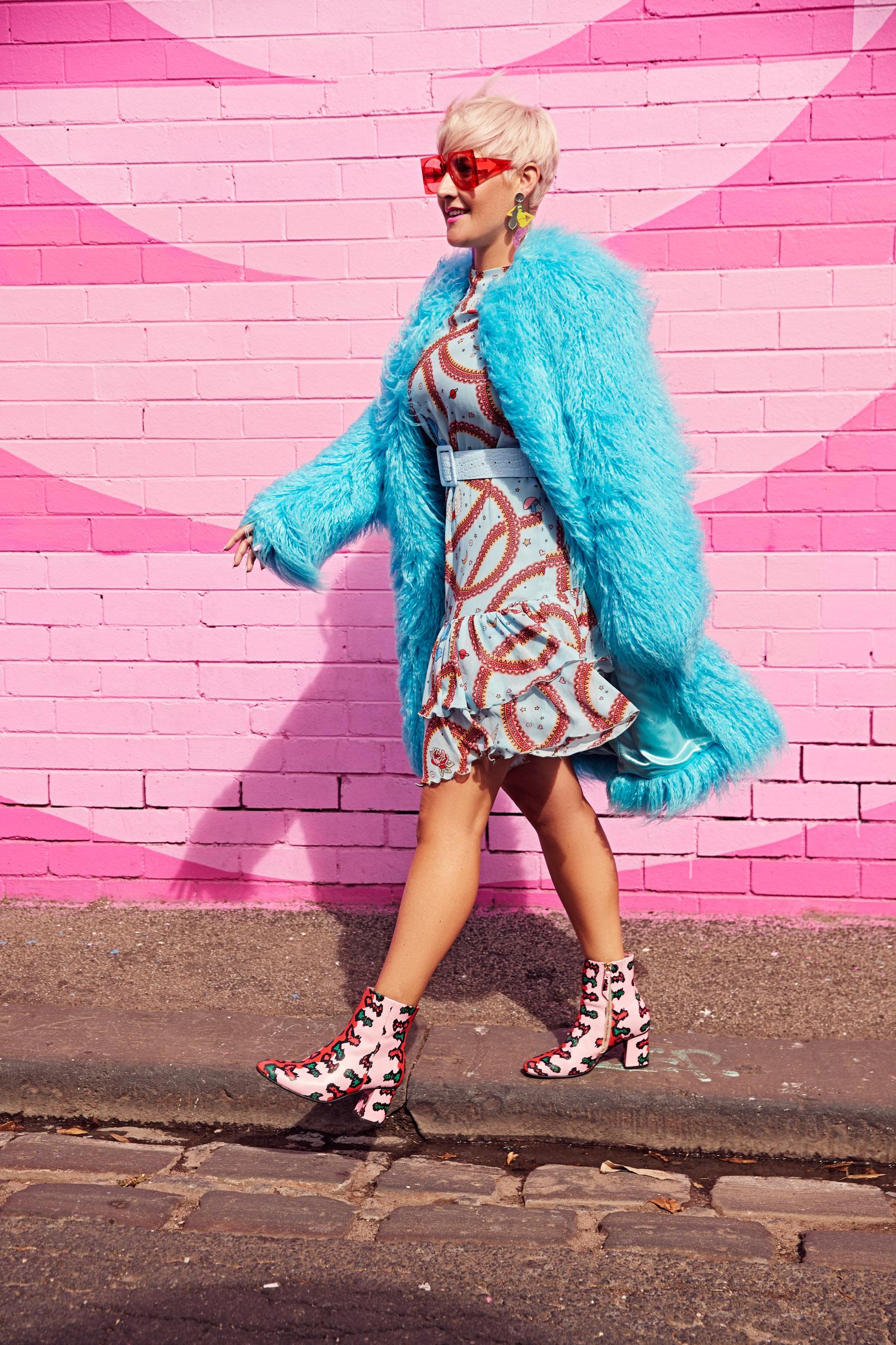 Louise Hilsz Miss Wilson boots