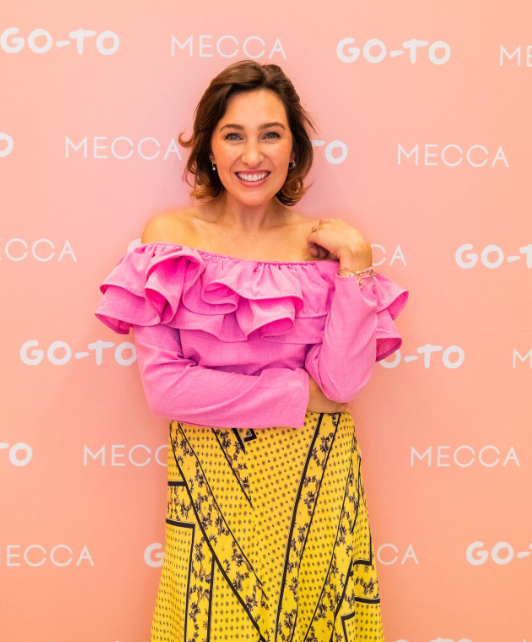 Foster Blake at the Meca GO-TO Skincare launch.