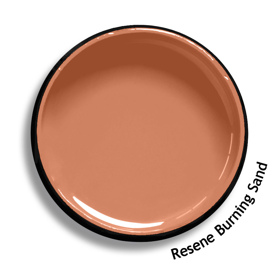 Resene orange paint