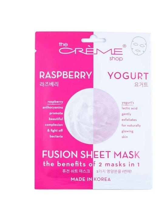 The%2BCreme%2BShop%2BRaspberry%2BYogurt%2B2-in-1%2BFusion%2BSheet%2BMask