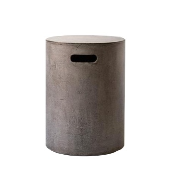 Indie Home Concrete Pipe stool