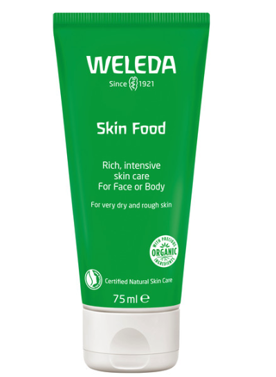 Weleda Skin Food, $23. - This cult beauty buy is loved by celebrities such as Victoria Beckham and Julia Roberts, as well as makeup artists and models who all swear by its 100 per cent natural, nourishing texture that leaves a gorgeous, dewy sheen on the skin. There is also a new Skinfood Light.