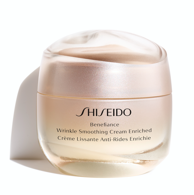 Shiseido Benefiance Wrinkle Smoothing Cream Enriched, $115. - This whipped velvety texture, will correct the look of fine lines fast thanks to the clever ReNeura Technology. It works from the inside out to instinctively nourish skin so you don't have to deal with those age-related issue brought on by skin dehydration.