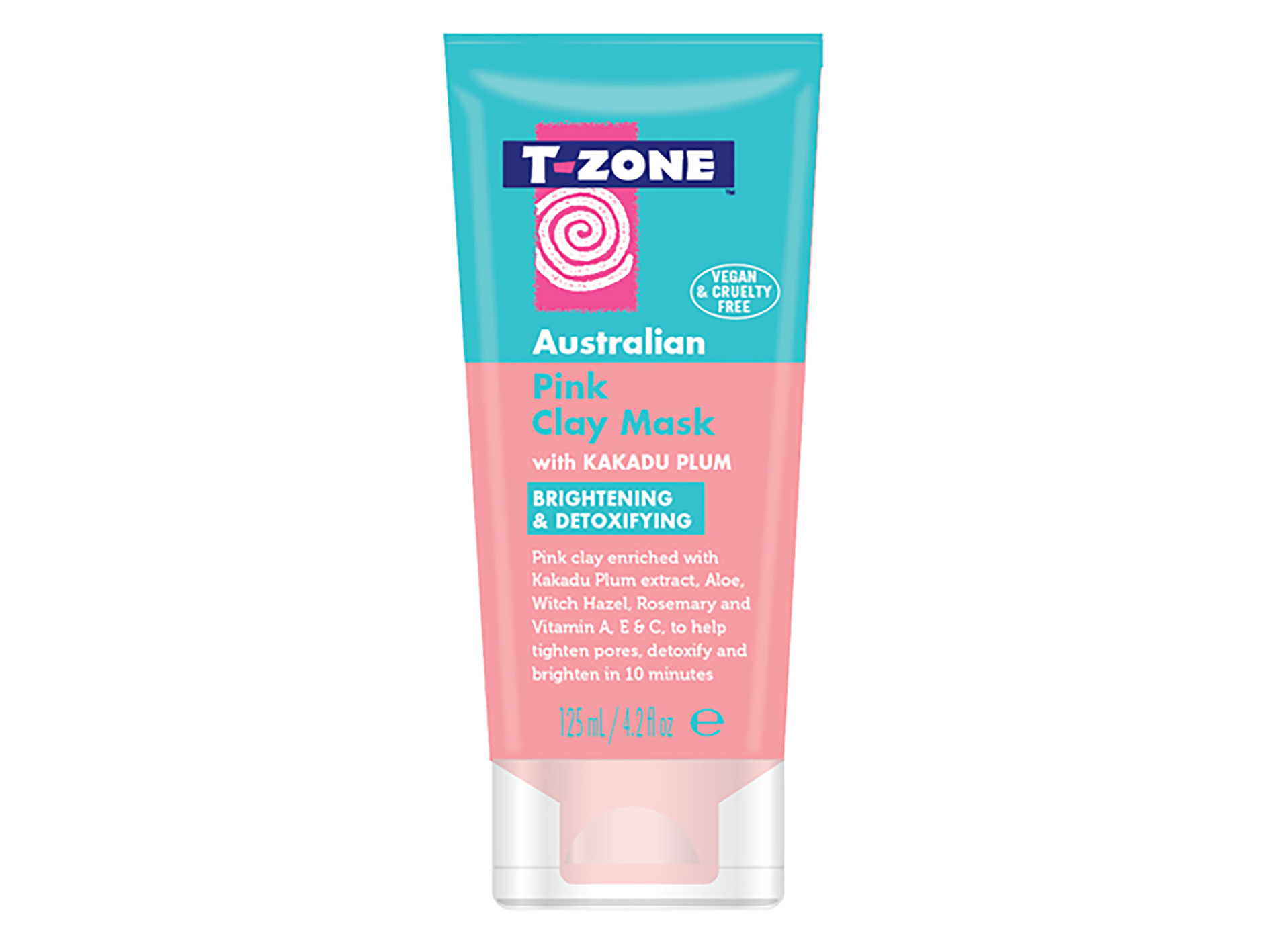 T-Zone Australian Pink Clay Mask,$18 - Blowing up on Instagram, we can't get enough of this skin brightening and detoxifying concoction. Stacked with Kakadu plum extract and vitamins A, C, and E, hydrating aloe, and skin tightening witch hazel, and rosemary, it's a mask that makes skin look instantly clear. Oh and did we mention it's vegan and cruelty-free, #respect.